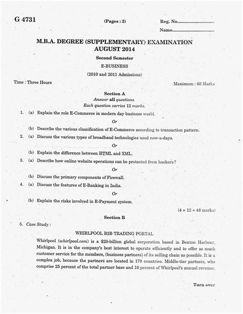 Mg Mba Results 2014 Semester by Marian Library M G Mba 2014 Second Semester
