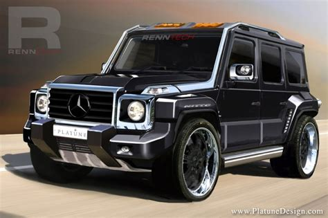 future mercedes g class presenting the renntech limited edition g concept