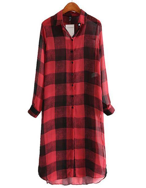 Maxi Dress Brenda dress brenda shop plaid checkered shirt dress