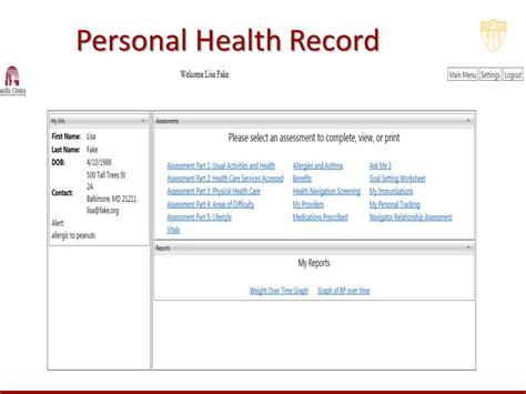 Personal Records The Bridge A Peer Navigator Intervention For Improving The Health Of Adults With