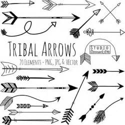 Gypsy Chandelier Small Tribal Arrow Clipart And Vectors Hand Drawn Arrow Clip Art