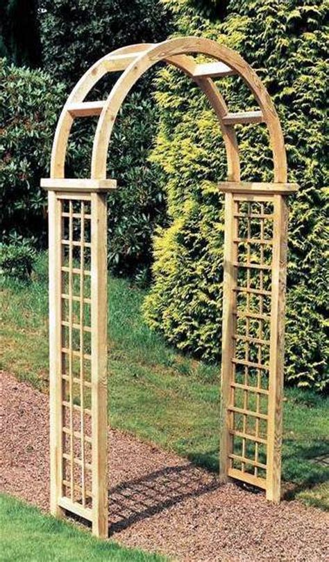 Garden Arch Uk The Elite Granville Wooden Garden Arch Gazebo Direct