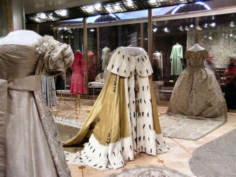 Get An Ermine Fur Cape Formerly Owned By Jean Harlow by One Of The Romanoff Imperial Coronation Robes On Display