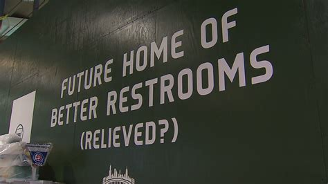 long bathroom line cubs apologize for long bathroom waits will install