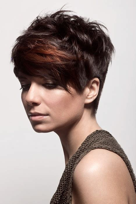 diva hair cut for short curly hair a short brown hairstyle from the loreal colour trophy