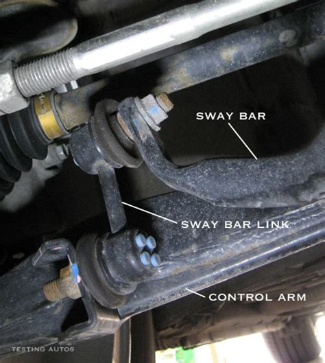what does the truck end when to replace sway bar links