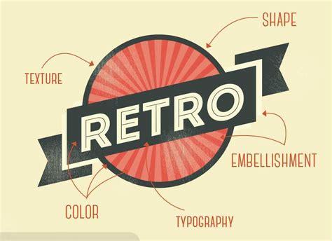 design a retro logo recipe for retro logo design