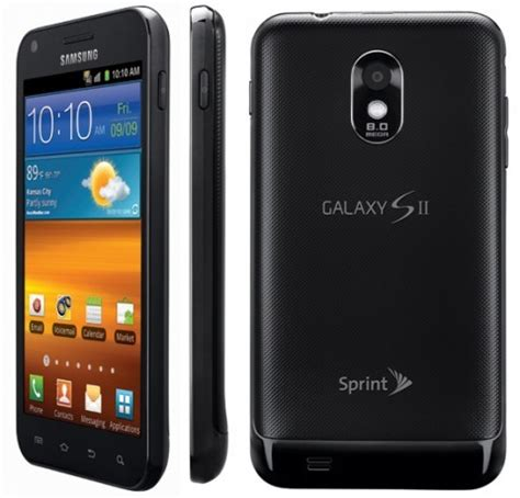 Samsung S2 samsung galaxy s2 epic touch android smartphone 4g d710