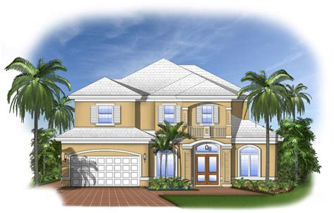florida house plan with open layout 66102we architectural designs house plans