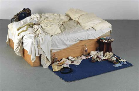 on my bed tracey emin b 1963 my bed christie s