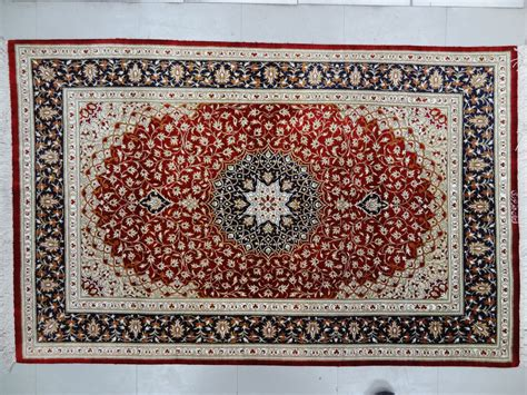 rug place qom silk rug5 x 3 2 ft 152 x 97 cm rugs place