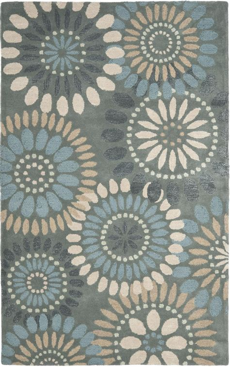 Grey And Blue Rug by Safavieh Jardin Jar455a Grey And Blue Area Rug Free Shipping