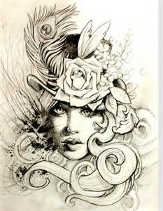 love this sketch 1920 s inspired tattoo tattoo ideas