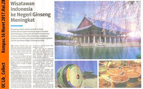 Ginseng Korea Di Indonesia library uc wisatawan indonesia ke negeri ginseng meningkat