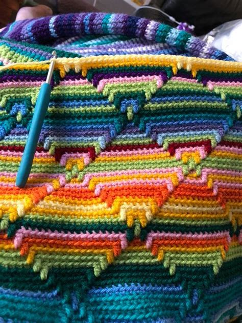 crochet pattern navajo afghan navajo blanket bewitching stitch