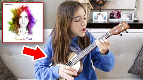 sound in color sound in color gabriela bee acoustic ukulele version
