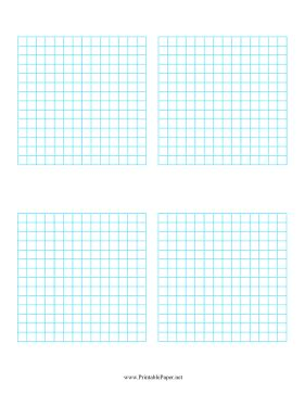 printable graph paper multiple graphs printable multiple graphs 4 per page
