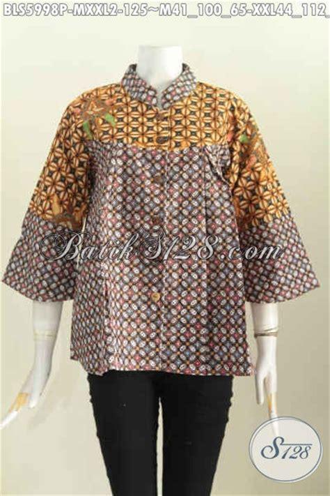 Abaya Nagita batik blus klasik desain kerah shanghai nagita busana