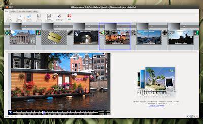 membuat video klip musik membuat video dari gambar photo dan musik dengan ffdiaporama