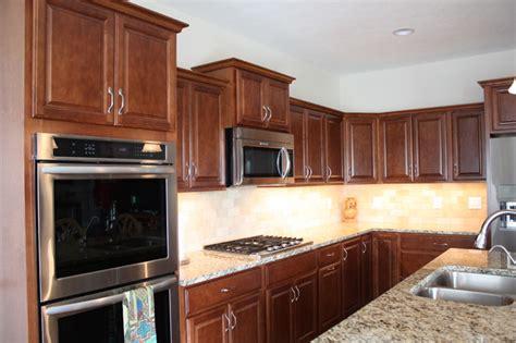 Belmont Kitchen Cabinets by Kraftmaid Belmont Maple Chestnut New Construction