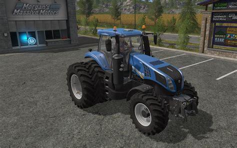 T 8 Ls by New T8 Dual Wheels V1 1 Ls2017 Farming Simulator