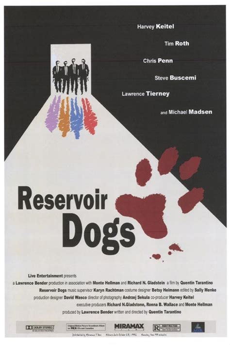 reservoir dogs poster reservoir dogs posters at poster warehouse movieposter