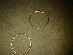 14k self piercing hoop earrings collectors weekly