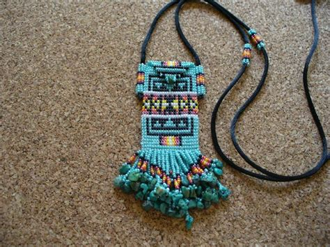 729 best images about beaded amulet bag on