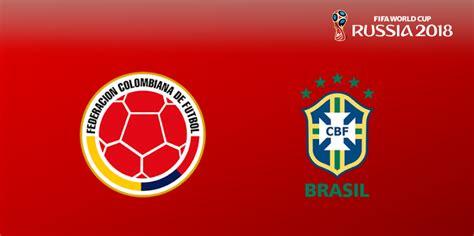 Brasil Mundial 2018 Resultado Colombia 1 Brasil 1 Eliminatorias