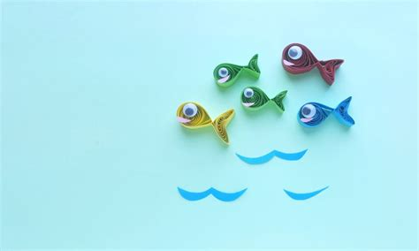 dr seuss  fish  fish red fish blue fish craft