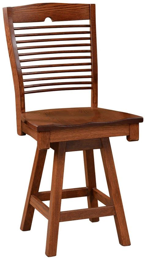 Seattle Bar Stools by Seattle Modern Swivel Bistro Stool Countryside Amish