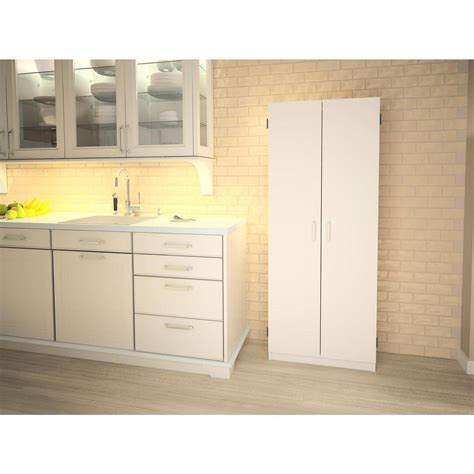 furniture door pantry storage cabinet white for