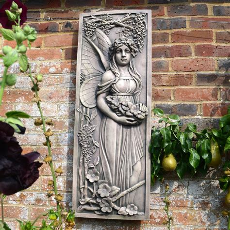 Alura Wall Plaque Garden Feature Garden Wall Plaques