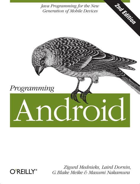 programming android cover programming android 2nd edition book