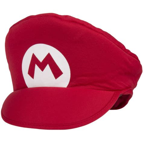 mario hat tv character shop costume