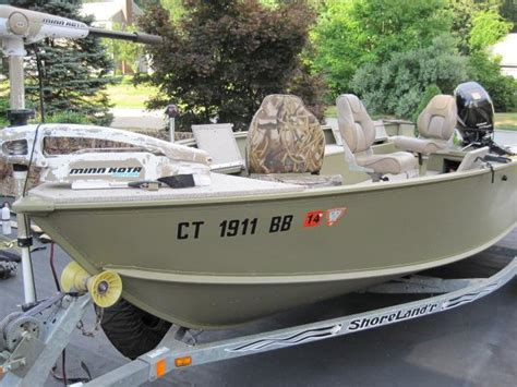 used tracker boats for sale in ct for sale lund alaskan w 70 suzuki shoreland r trailer