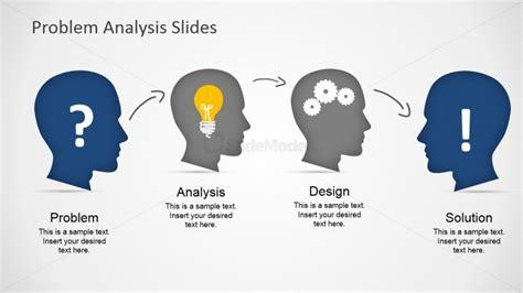 problem analysis design solution process slidemodel