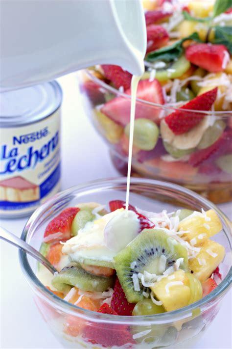5 fruit salad fruit salad with sweet citrus dressing the homemaker