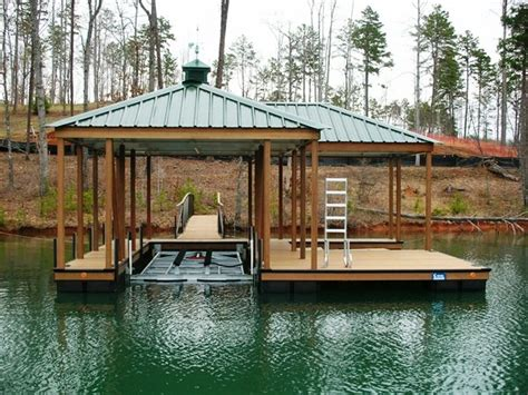 boat covers attached to dock custom dock systems builds quality boat docks boat lifts