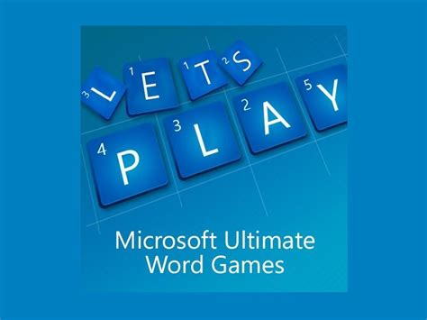 Chess Styles Microsoft Ultimate Word Games Is The Next Title From The