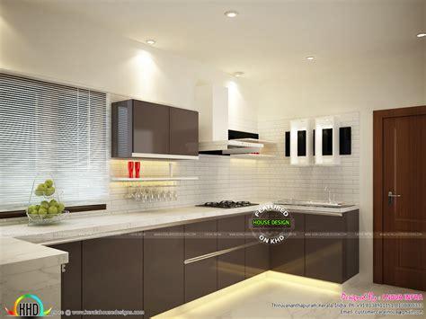 kerala kitchen interiors kerala home design  floor plans