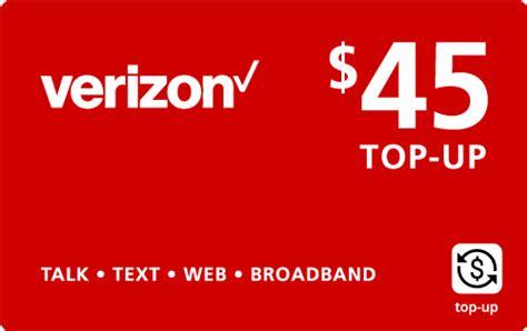 Buy Verizon E Gift Card - pinzoo com gt buy 45 00 verizon wireless top up online on sale for 44 89