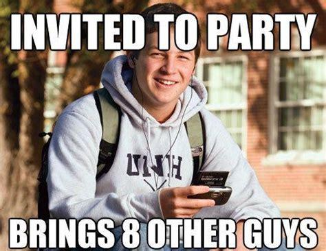 College Freshmen Meme - the blissful naivete of the college freshman