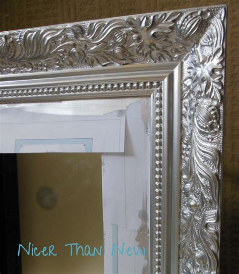 Silver Metallic Paint For Wood Furniture by Furniture Artistic Image Of Rectangular Embossed Silver