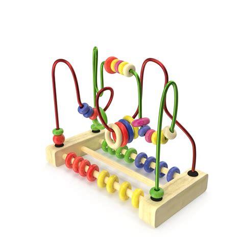 bead toys wire maze bead 3d model