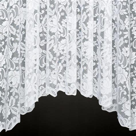 heavy lace curtains sophie jardiniere a heavy jacquard lace jardiniere