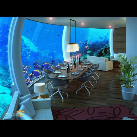 Hotels With Aquariums In The Room by An Escape Into The Aquarium Poseidon Undersea
