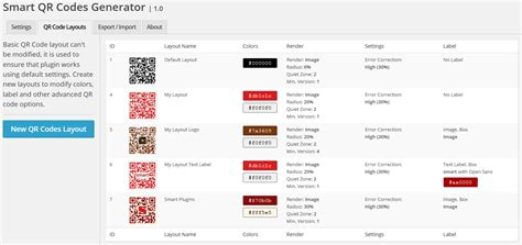 layout editor doesn t work smart qr codes generator by gdragon codecanyon