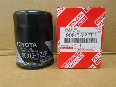 buy genuine oem toyota filter 90915 yzzf2 motorcycle