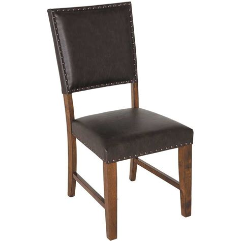 dining chair with nail trim hm980 chr hommax